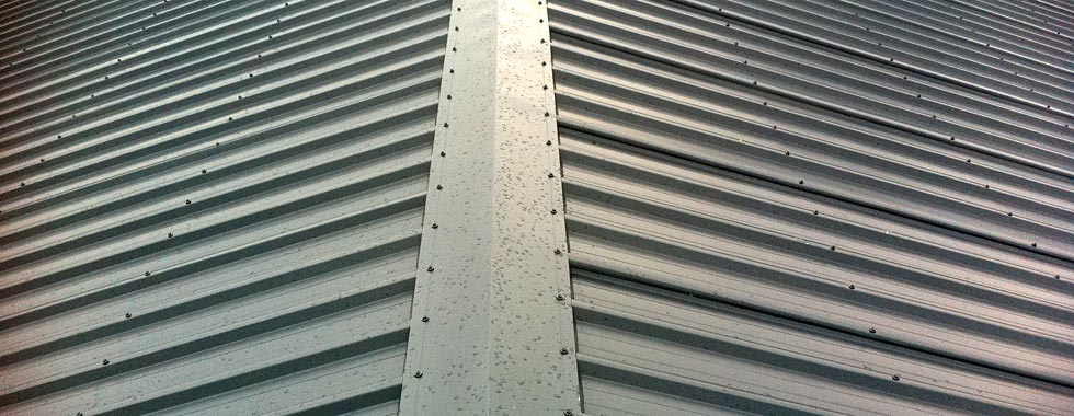 Low angle roofing