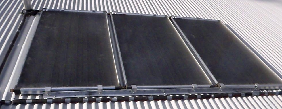 Solar hot water installation and maintenance